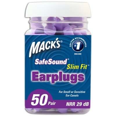 Macks earplugs slim fit